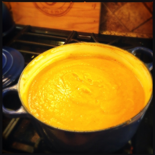 Vegetarian Butternut Squash/Sweet Potato Soup