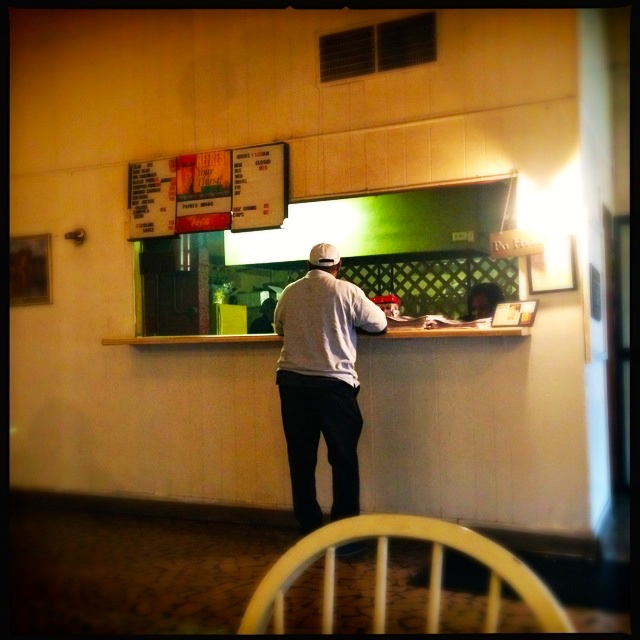 Payne's Bar-B-Que Order Window