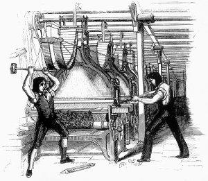 Luddites Frame Breaking 1812