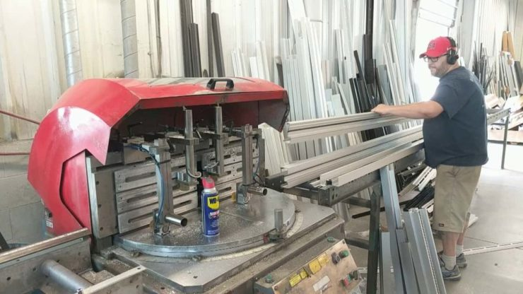 photo of wooster glass fabrication shop