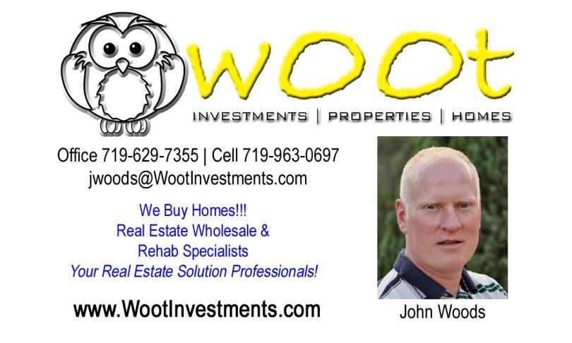 John Woods - President, Woot Investments, LLC
