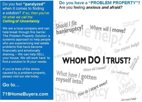 Problem Property - Ceiling of Uncertainty