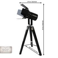 Stehlampe Scheinwerfer Designerlampe Filmscheinwerfer ...