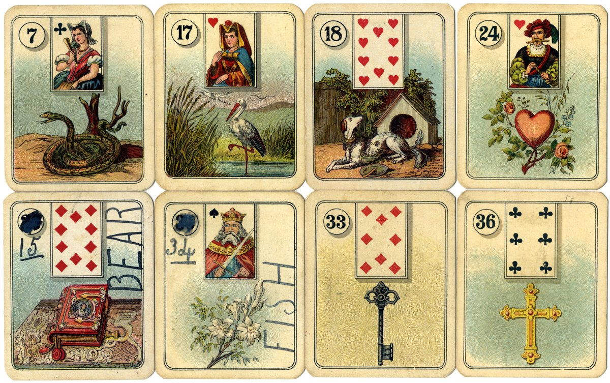 Carreras Fortune Telling Cards The World Of Playing Cards