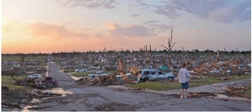 Tornado en Misuri  Antes y Despues 2