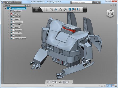 Autodesk 123D modelado 3D