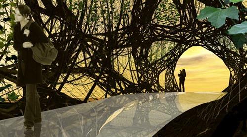 Baubotanic Aquitectura y arte- puente