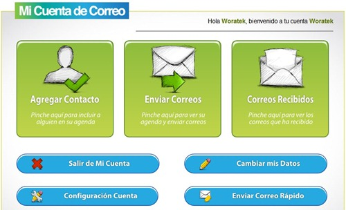 Cuentas de correo fácil con MiCuentaDeCorreo