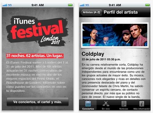 iTunes Festival londres 2011