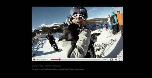 Quietube, YouTube videos sin distracciones