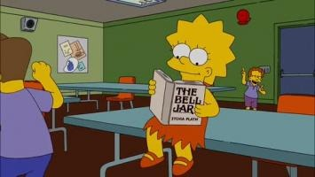 Lisa Simpson en el club del libro 3