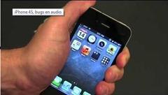 iPhone 4S, bugs en audio