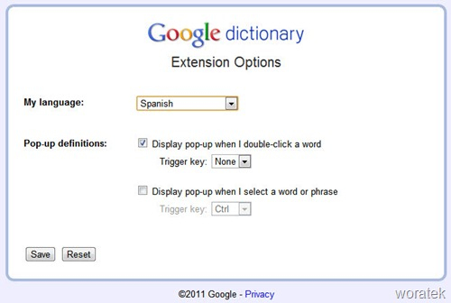 Google diccionario 3
