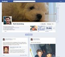Facebook cuentas de celebridades