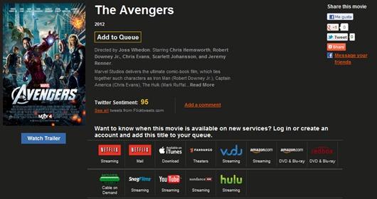 Watch It seguimiento de películas
