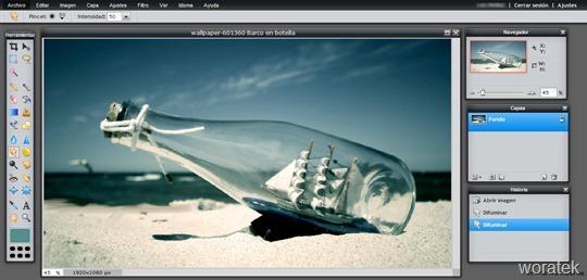 wallpaper-601360 Barco en botella 2