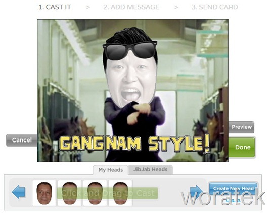 19-12-2012 Gangnam style video saludo navidad