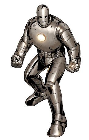 Trajes de Iron Man- Primer traje