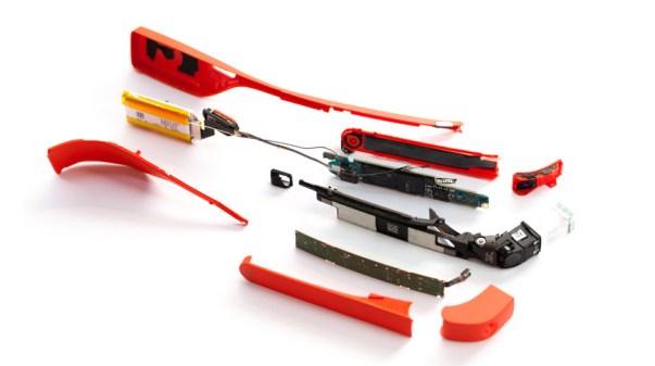 Google Glass desmontaje