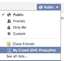 Seleccionar quien puede ver publicaciones en Facebook