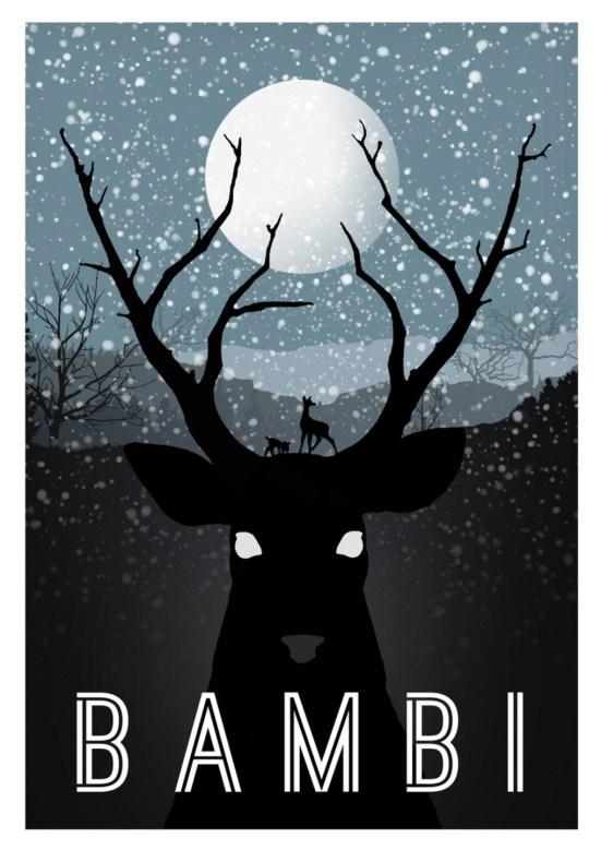 Póster de Bambi arte