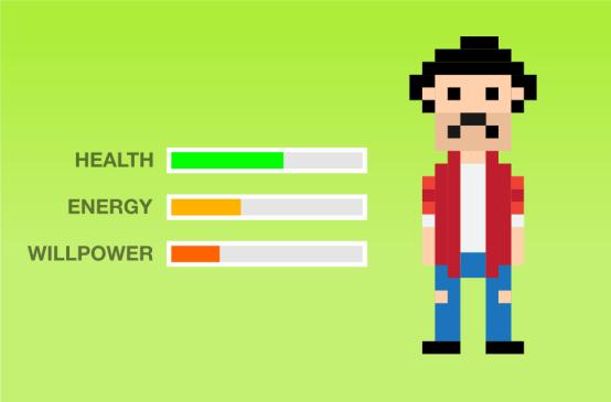 Auto ayuda, niveles de energía