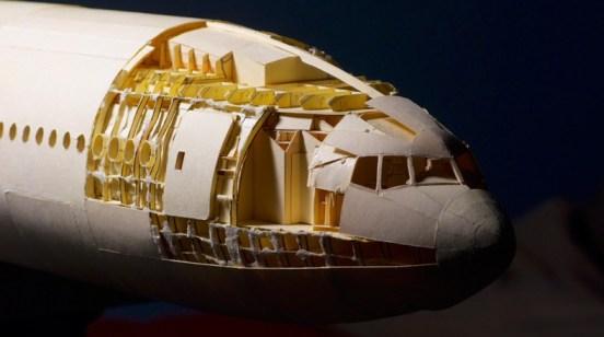 Construyendo el avión de papel- esqueleto