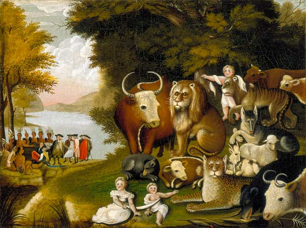 Image result for peaceable kingdom