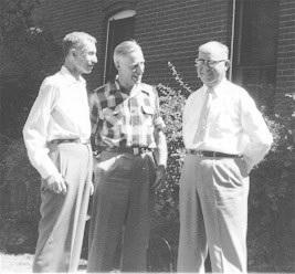 Carl Henry, Ralph Moody, and Dutch Gunter