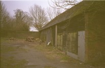 The shed where Hazel tried to free some does before being shot.