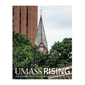 UMass Rising: The University of Massachusetts Amherst at 150 jacket