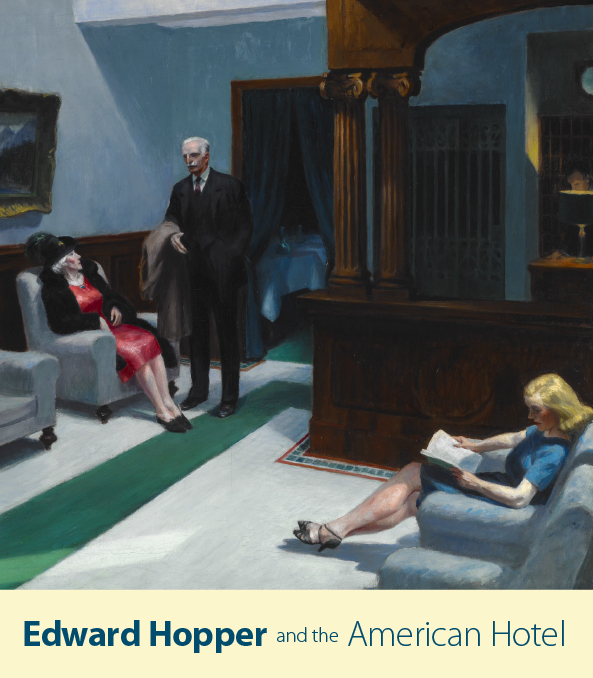Edward Hopper and the American Hotel Cover