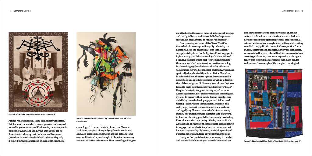 Afrocosmologies text spread 4