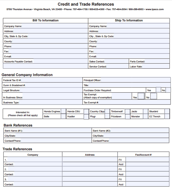 attractive trade reference form template motif example resume