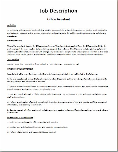 job description template model 1 28 9 kib 447 hits. restaurant ...