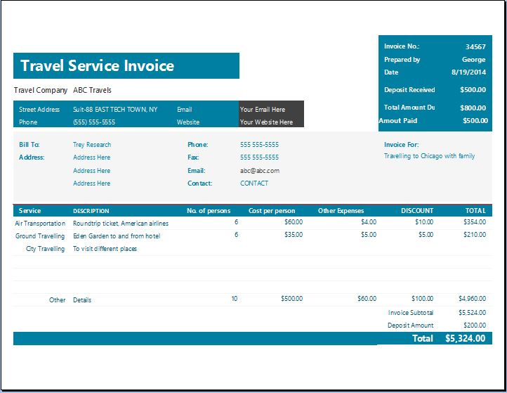 Sample Business Plan Template For Travel Agency