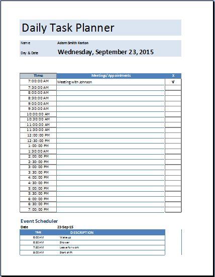 Daily Task Log Template. daily task sheet daily task tracking log ...