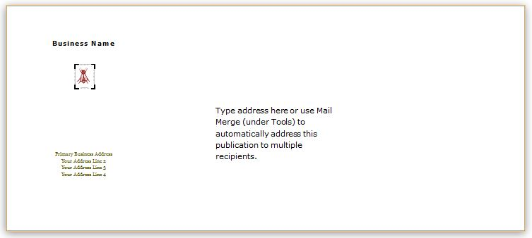 40 Editable Envelope Templates For MS Word Word Amp Excel