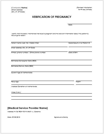 Fake Pregnancy Test Results Paper