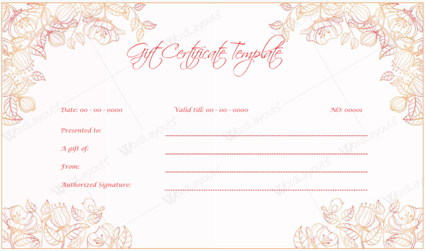 Doc615464 wedding gift certificate template red rose wedding free printable wedding gift certificate templates wedding wedding gift certificate template yadclub Image collections