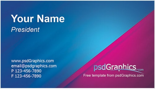 6 business card templates excel pdf formats business card template 11 flashek Image collections