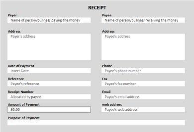 Invoice Contract Pdf  Cash Receipt Templates  Excel Pdf Formats Lemon Receipt Word with Handyman Invoice Template Word Cash Payment Receipt Cash Receipt Software Word