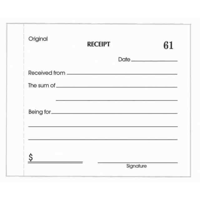 cash receipt template 555