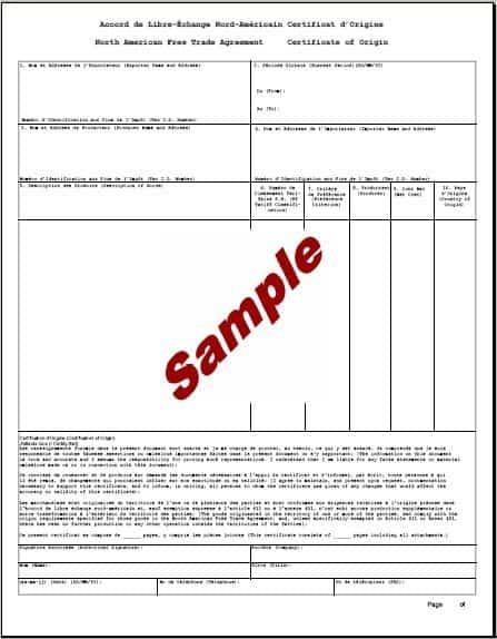 Beautiful Template Certificate Of Origin Intended For Example Certificate Of Origin