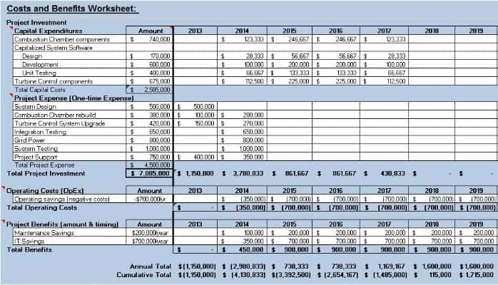 Cost Benefit Analysis Template 22  Cost Benefit Analysis Templates