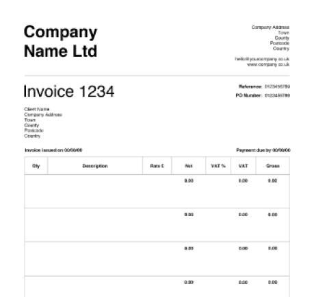 invoice template 33