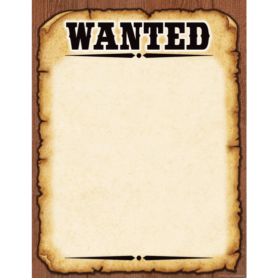 wanted poster template 33