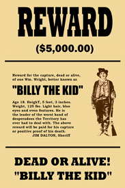Wanted Poster Template 66