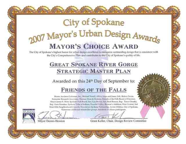 Award Certificate 21545