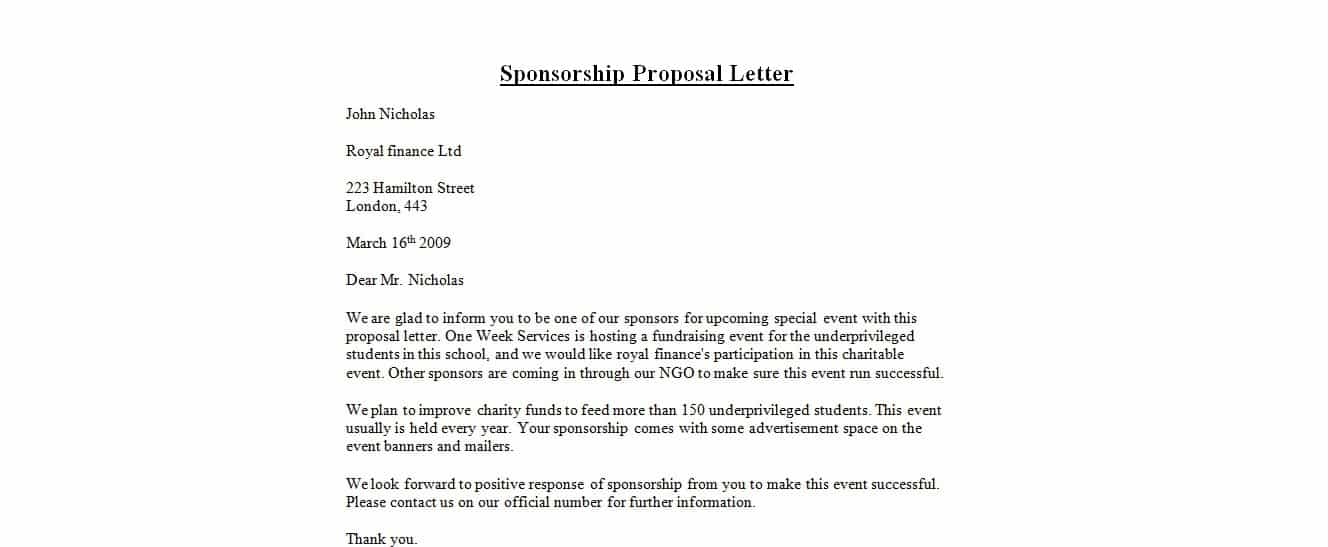 narrative essay idea choose me essay writing assignments for – Writing a Sponsorship Proposal Letter